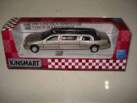 "Kinsmart мет. Машинка 7"" 1999 Lincoln Town Car Stretch Limousine д/б"