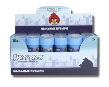 1toy Angry Birds classic, мыл.пуз., 50мл, в д./б.
